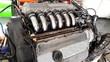 Motore sei cilindri dal meccanico - potenza