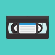 VHS Cassette Vector Illustrati...