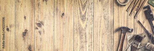 Fotografie, Obraz  Werkzeug | Handwerken | Heimwerken - Banner