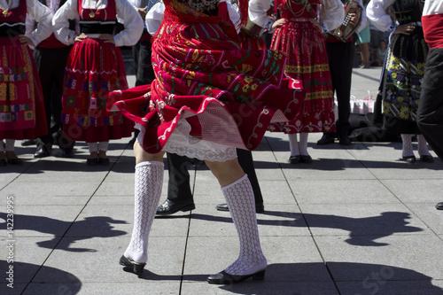 Fototapeta  Traditional portuguese dancers