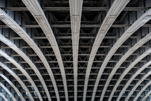 Parallel Steel Beams Supportin...