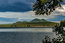 Castle Bezdez From Lake Machac