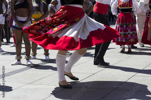 Fotografie, Obraz  Traditional portuguese dancers