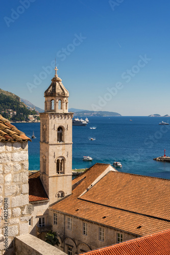 Dubrovnik view from City Walls Poster