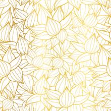 Vector Golden White Striped Su...