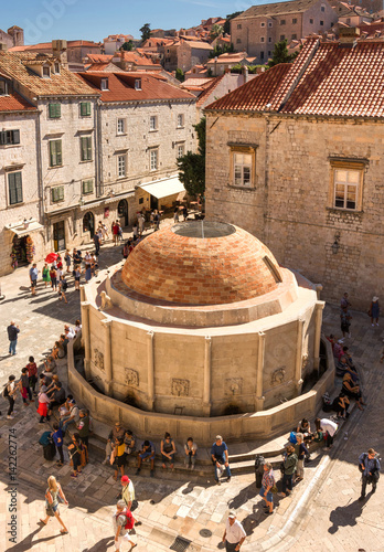 The Large Onofrio's Fountain Dubrovnik Poster