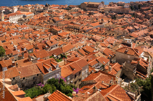 Rooftops of Old Town Dubrovnik Poster