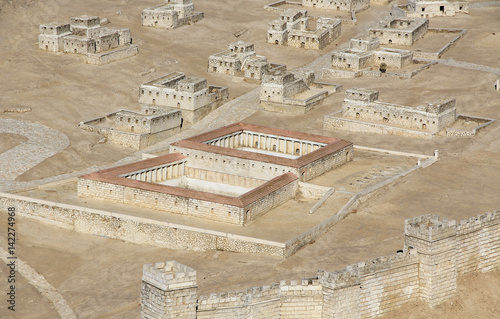 фотография  Model of ancient Jerusalem at the time of the second temple