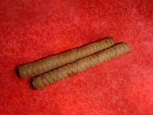 Sweet Waffle Straws With Choco...