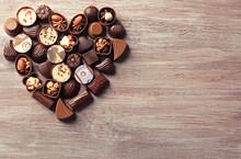 Heart-shaped Collection Of Cho...