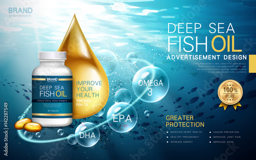 Valokuva  deep sea fish oil
