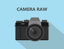 Camera RAW Format File Illustr...