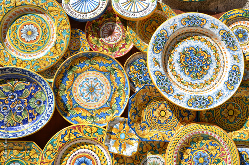 Fotografie, Obraz  Ceramica Siciliana ad Erice