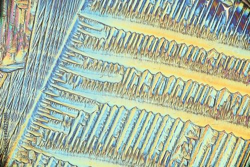 Crystals of a painkiller, paracetamol Wallpaper Mural