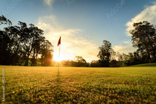 Poster Golf golf course