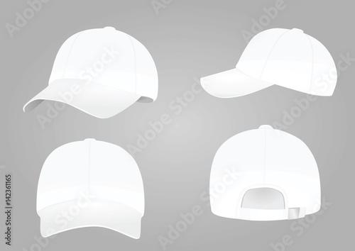 Baseball cap vector Canvas-taulu