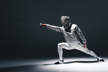 Professional Fencer In Fencing...
