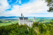 Neuschwanstein Castle. One Of ...