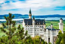 Neuschwanstein Castle. One Of ...