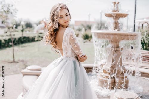 Fotomural Beautiful bride