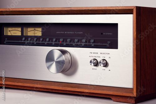 Vintage Stereo Audio Tuner Radio Tuning Knob - Buy this