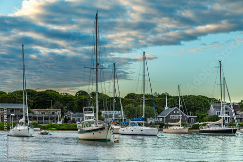 Photo  Falmouth Harbor Cape Cod