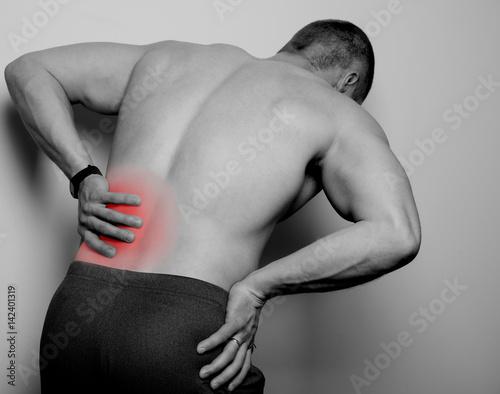 Fototapety, obrazy: pain in the back
