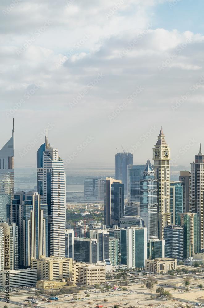 Photo & Art Print Aerial view of Dubai cityscape, UAE   EuroPosters