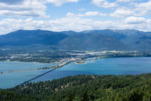 View Of Lake Pend Oreille And ...