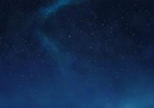 Dark Sky And Star Background.