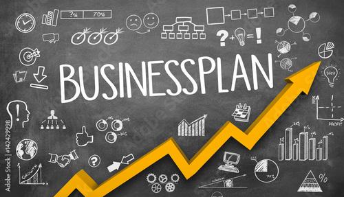 Businessplan / Tafel / Symbole