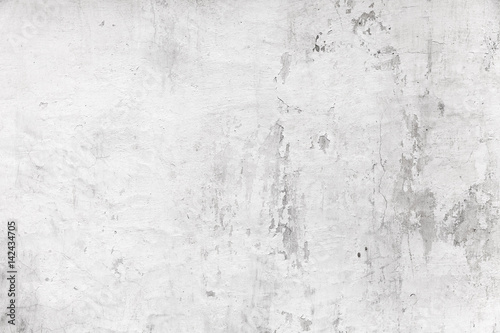 Old white concrete wall, grungy background Canvas-taulu