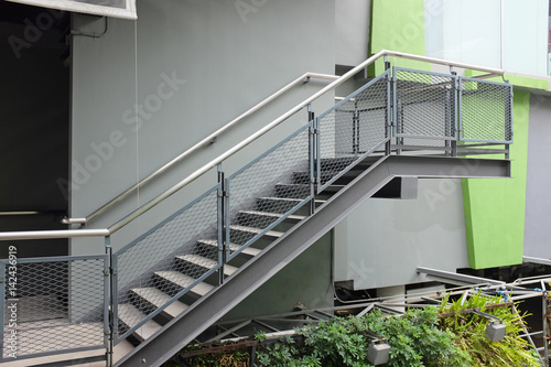 Garden Poster Stairs building outdoor stairs