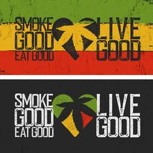 Set Of Two Rastafarian Quotes....