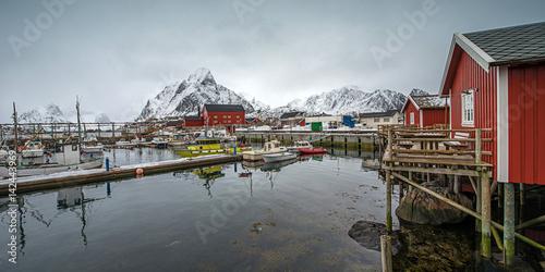Fototapety, obrazy: Fisherman village