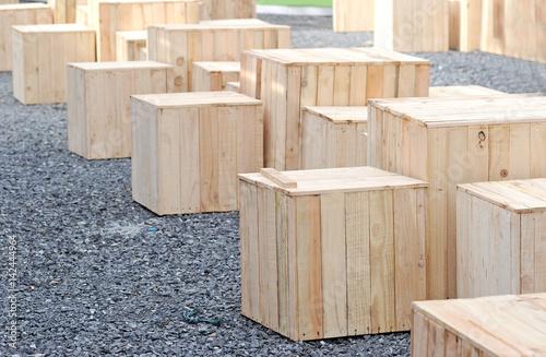 Fototapeta wooden box obraz na płótnie