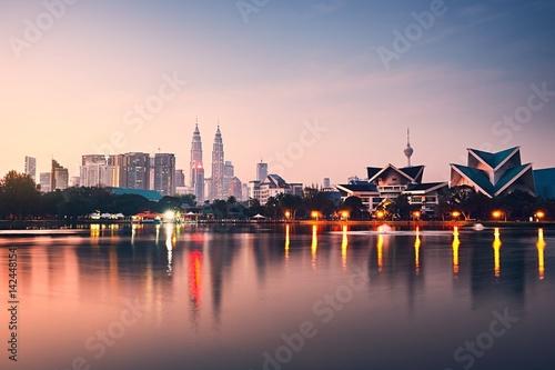 Canvas Prints Kuala Lumpur Kuala Lumpur at the sunrise
