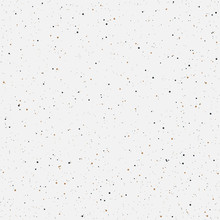 Minimalistic Seamless Pattern Gold Black Dots Vector