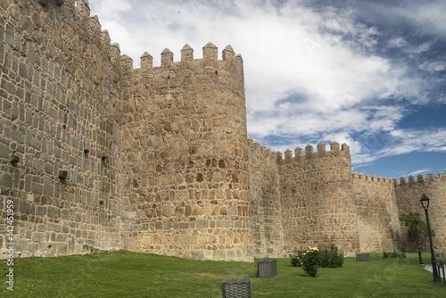 Avila (Castilla y Leon, Spain): walls