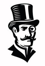 Vintage Gentleman Emblem