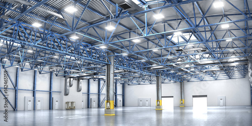 Photo  Concept of warehouse