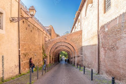 Valokuva Rome, Italy. Antique Cliveau de Scauro on the Celius Hill