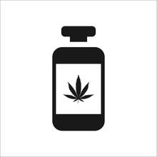 Medical Marijuana Bottle Simpl...