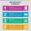Cruise infographic design with elements.