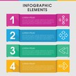 Forward infographic design with elements.