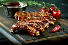 Spicy Hot Grilled Spare Ribs F...