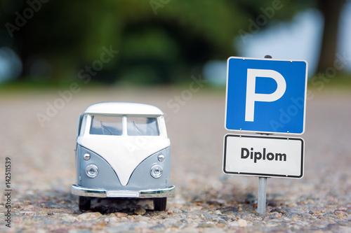 Foto  Schild 148 - Diplom