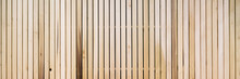 Wooden Slats On Floor Or Wall ...