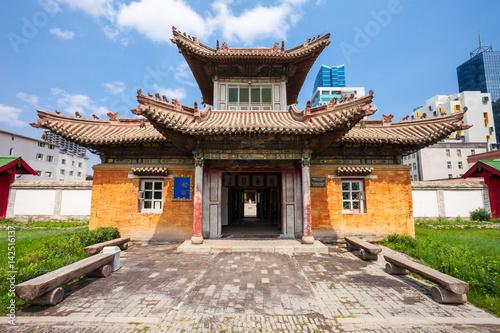Poster Lama Choijin Lama Temple Museum