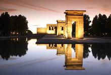 Debod Temple, Madrid, Spain